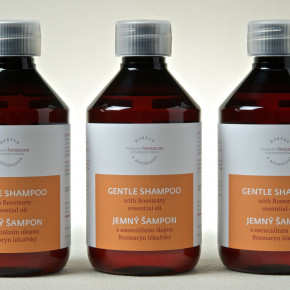 Gentle shampoo with Rosemary essential oil