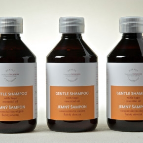 Speciality shampoo with Sage essential oil