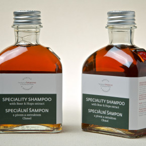Speciality Shampoo with Beer & Hops extract